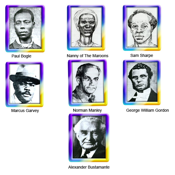 The Jamaicas National Heroes Traverse Jamaica